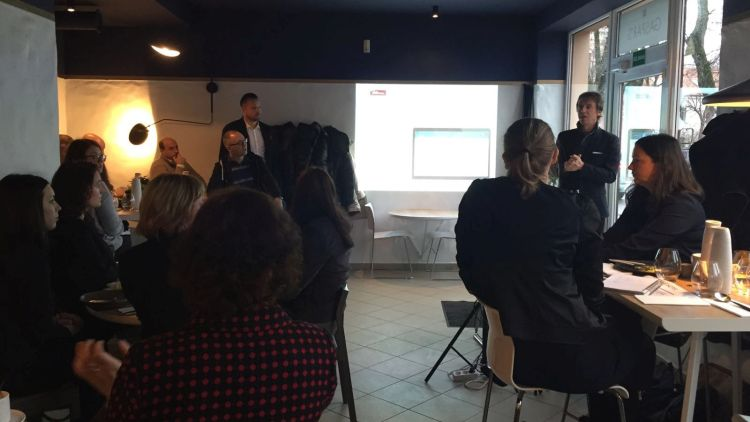 Google Hotel Ads event by Intent Agency Vilnius. Filippo Fasolo from AdsHOTEL presents. January 29th 2016.